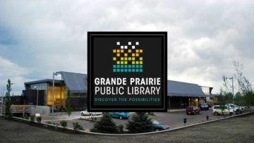 Grande Prairie Public Library Logo