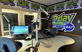 2Day FM Radio recording station in Grande Prairie, Alberta.