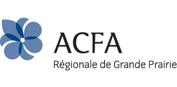 Logo for ACFA purple fluer de lis