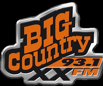 Orange Big Country 93.1 XX fm logo