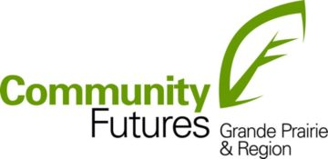 The logo for Community Futures Grande Prairie and Region.