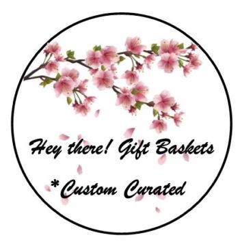 Hey There! Gift Baskets Logo