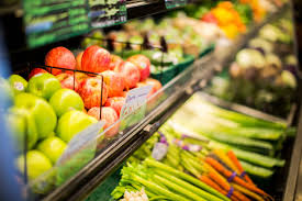 Fresh, local, produce at Homesteader Health in Grande Prairie, Alberta.