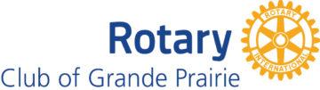 Rotary Club of Grande Prairie logo