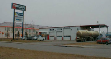 Front of Tire Craft In Grande Prairie Alberta