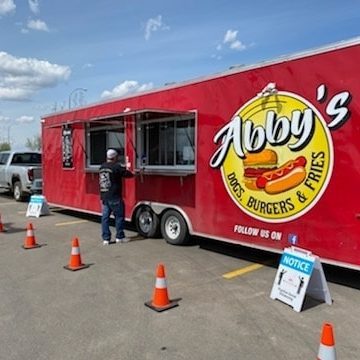 Abby's Dogs Burgers and Fries Food Truck
