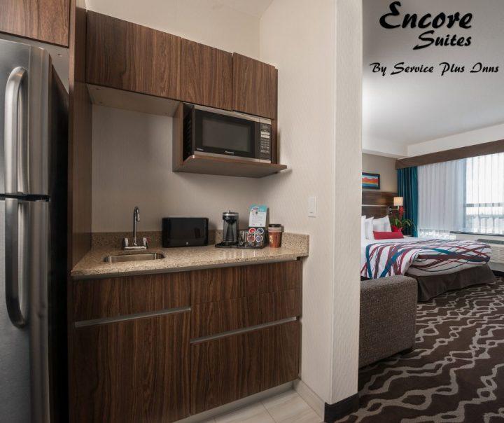 Encore Suites - kitchenette