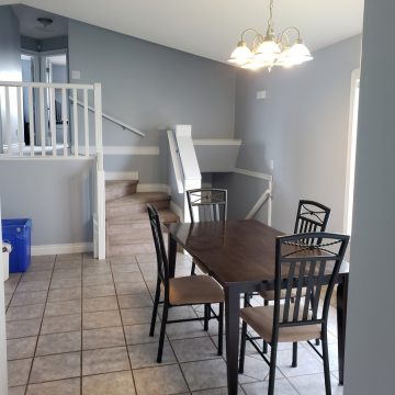 Kitchen at Fresh Coast Investments in Grande Prairie, Alberta.