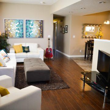 Living area at Fresh Coast Investments in Grande Prairie, Alberta.