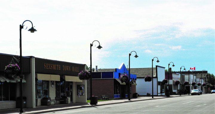 Sexsmith's Main Street shops