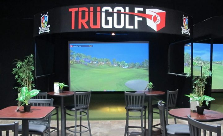 fore seasons virtual golfing - stay active indoors