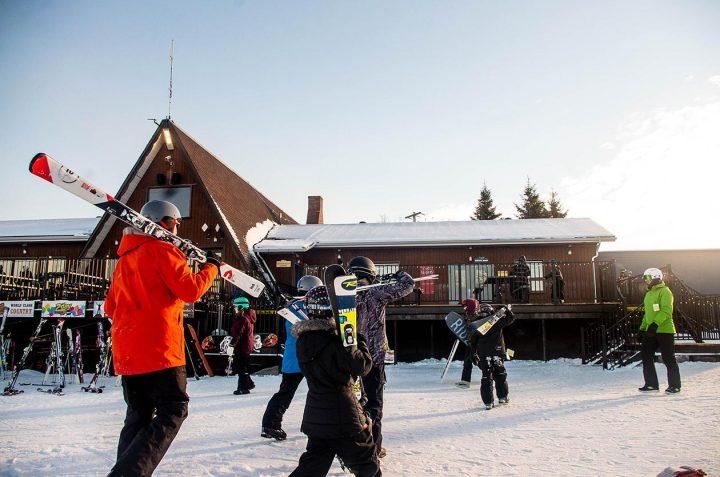 ski chalet - snowy escapades