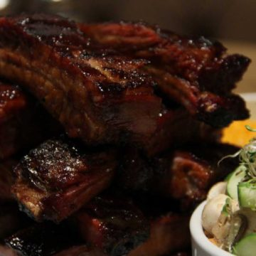 Ribs from Red Rock Urban Barbecue