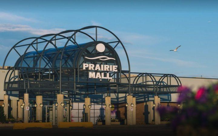 prairie mall exterior - shopping in grande prairie