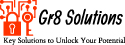 Logo for Gr8 solutions