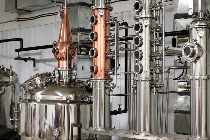 beer distilling machines