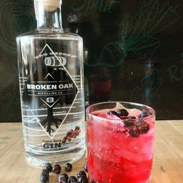 Broken Oak Distilling Co Prairie Berry Gin