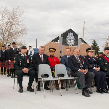 Rememberance Day Celebration in Grande Prairie