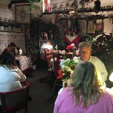 Inside the Olde Country Inn.