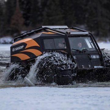 Shredded Peak Sherp Vehicle