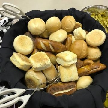 Baked buns and rolls from Citrus Catering in Grande Prairie, Alberta.