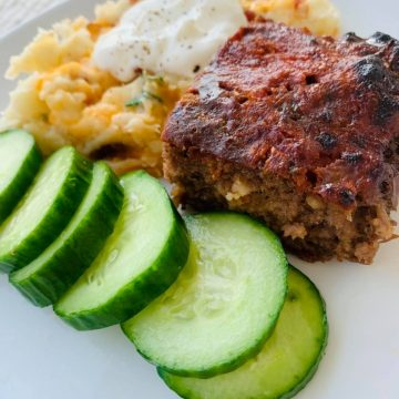 Done like Dinner Meatloaf in Grande Prairie, Alberta.