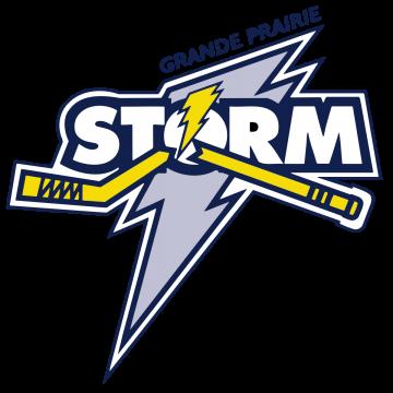Grande Prairie Storm logo